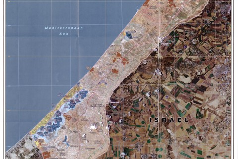 Gaza strip - wikimedia commons