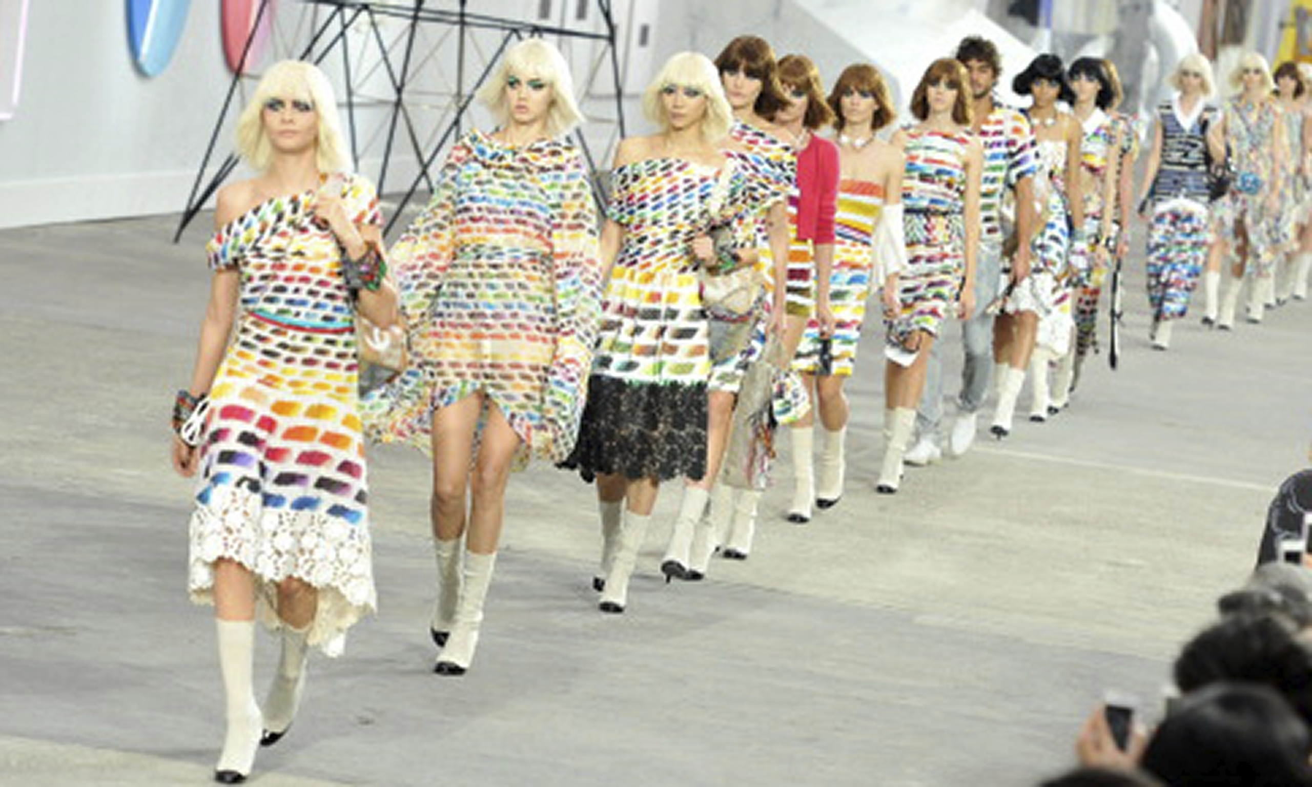 Chanel Fashion Show Spring Summer 2014 Say it loud the Chanel show