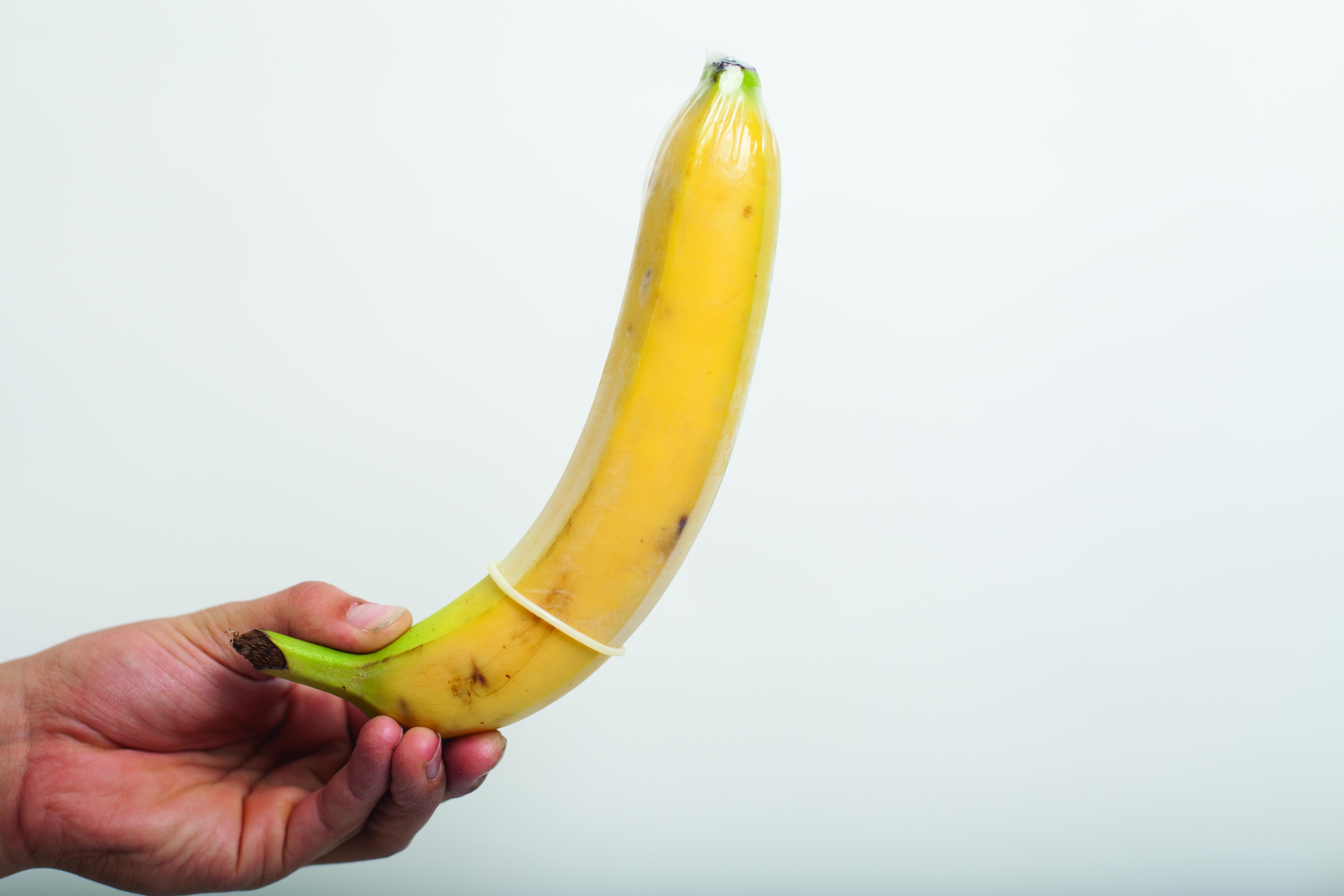 секс с фруктами с бананом
