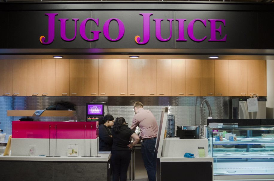 Jugo Juice is ready to open for business.