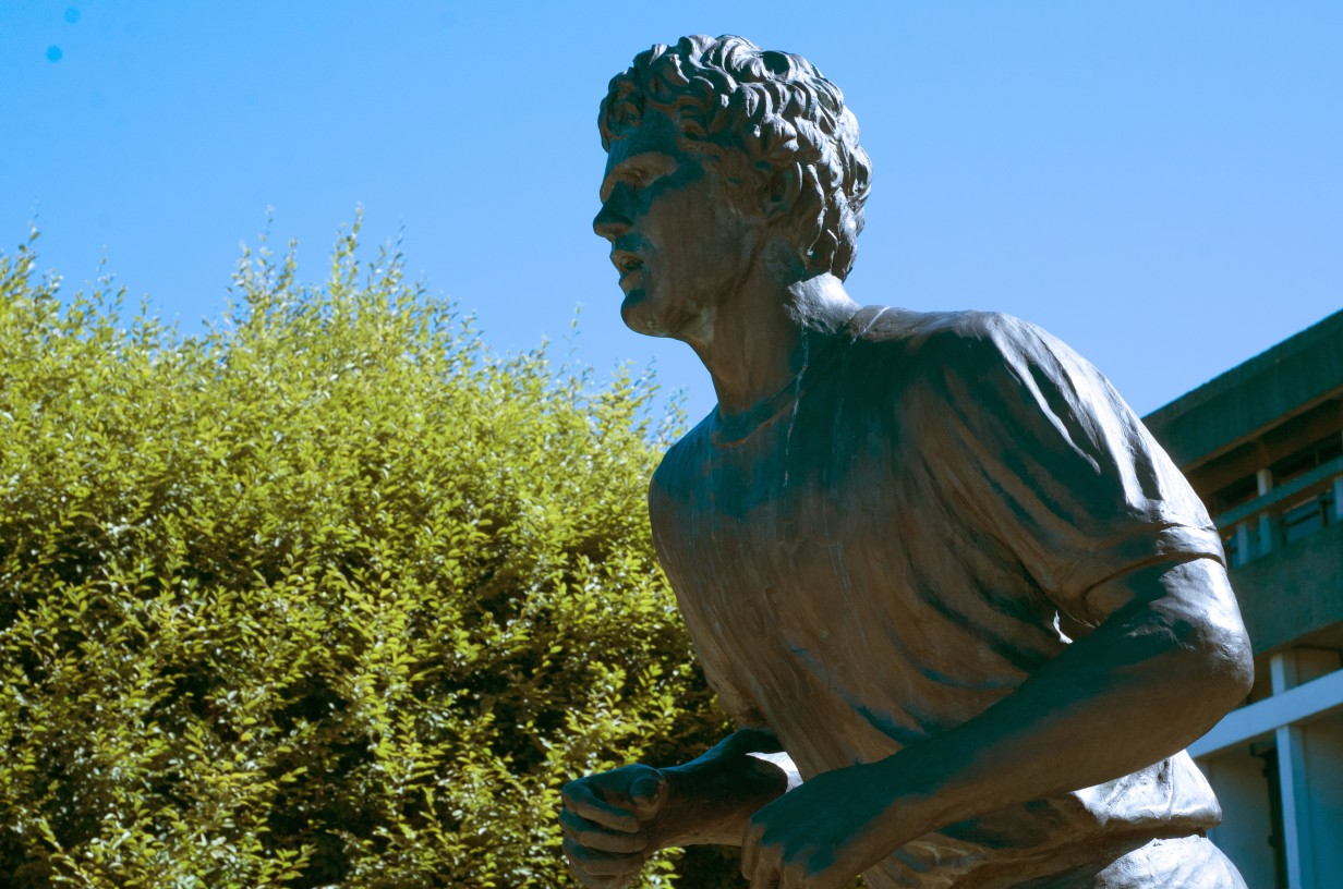 Photo of Terry Fox statue.