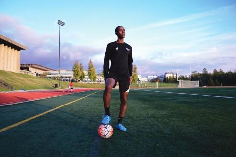 Camara is one of the rising stars of SFU Athletics.