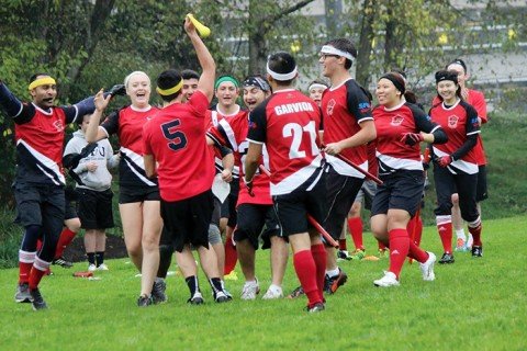 Muggles are welcome to join the SFU Quidditch team.