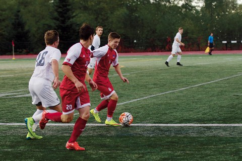The win has moved SFU up to third place in the GNAC.