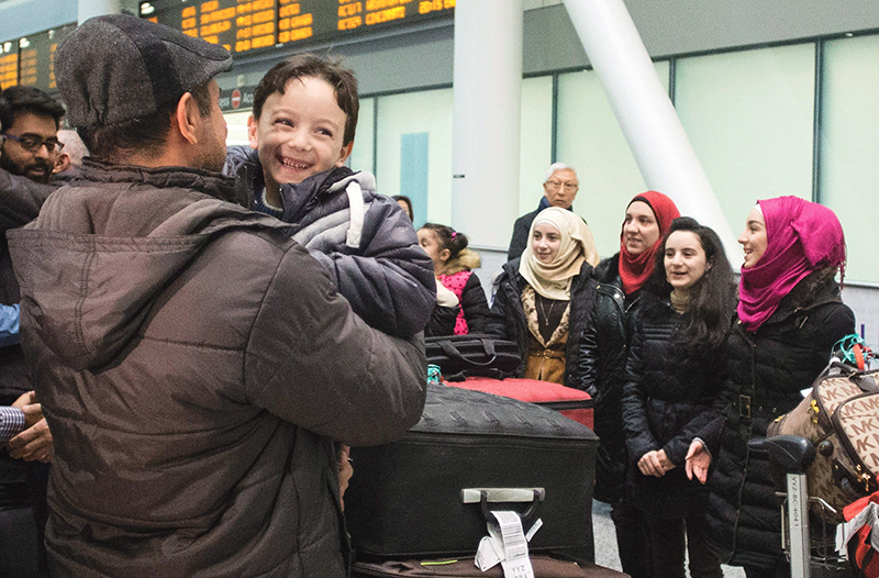 In 2015 Canada is estimated to have processed 10,700 refugees for resettlement. - Photo courtesy of The Canadian Press