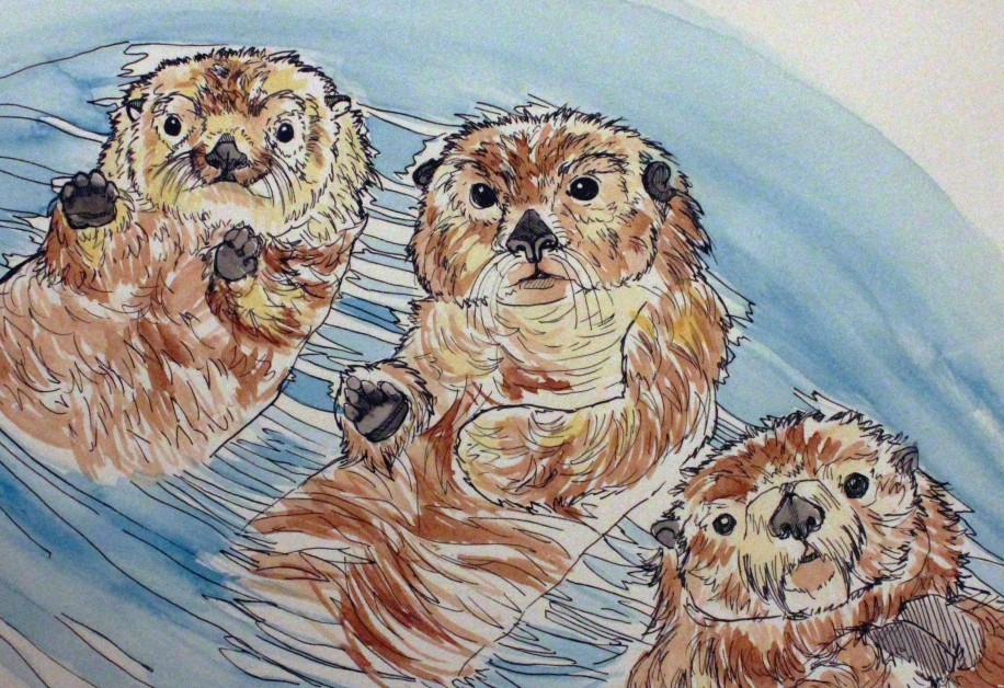 Sea otters are back to stay after nearly becoming extinct 100 years ago.
