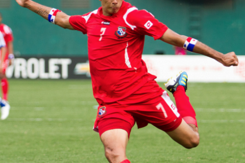 Blas Perez, seen here in action with Panama, was acquired from FC Dallas over the offseason.
