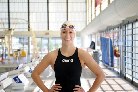 Swistak currently has the fifth fastest time in the 200 metre butterfly this season.