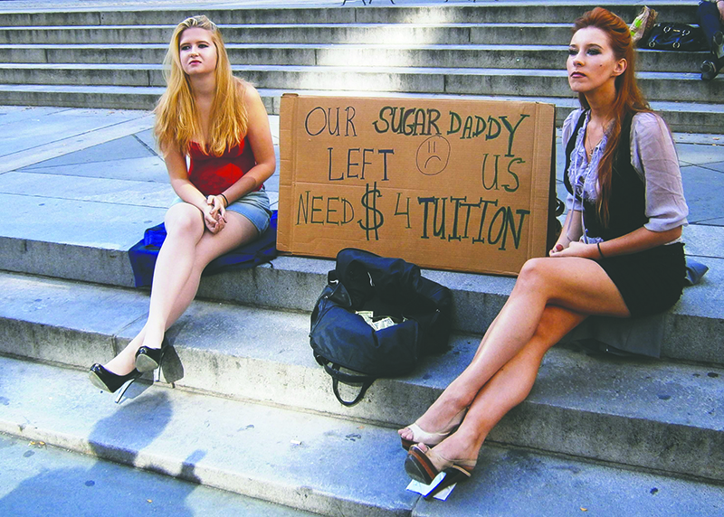SFU sugar babies cited many reasons for participating in the service, from paying their tuition to meeting new people. - Photo courtesy of MTL Blog