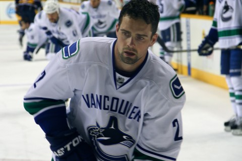 Dan Hamhuis was not traded at the deadline, much to the disappointment of Canucks fans.