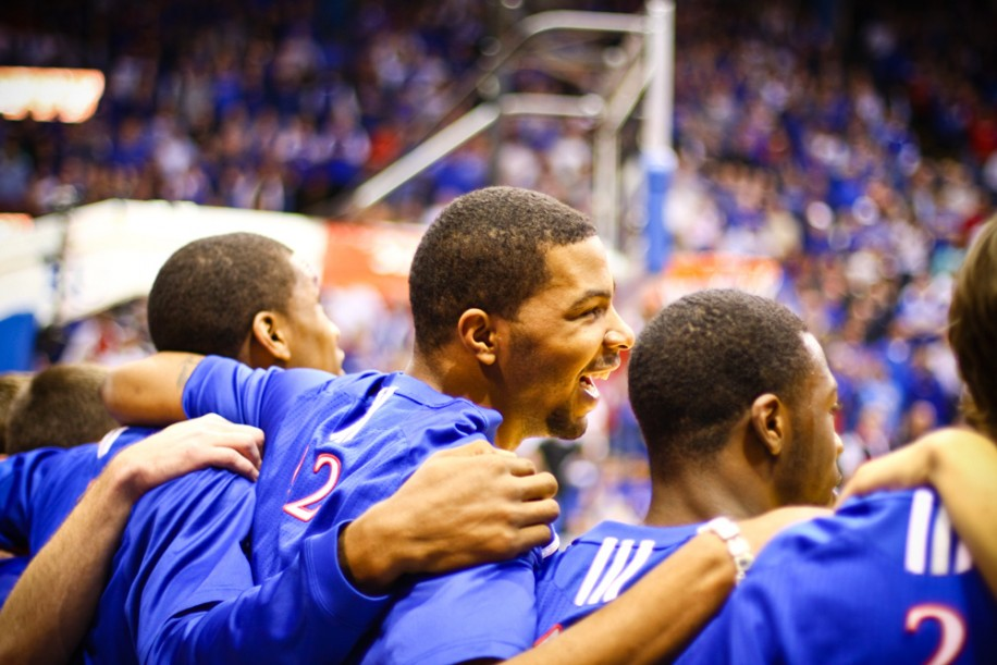 The Kansas Jayhawks are a popular pick to win the national championship.