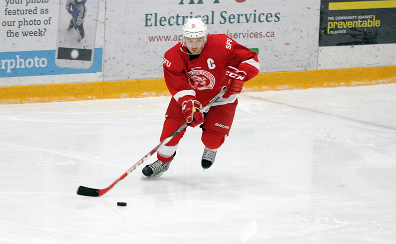 Jono Ceci leaves SFU as the program's all time leading scorer — as well as in the BCIHL —  with a staggering 177 points.