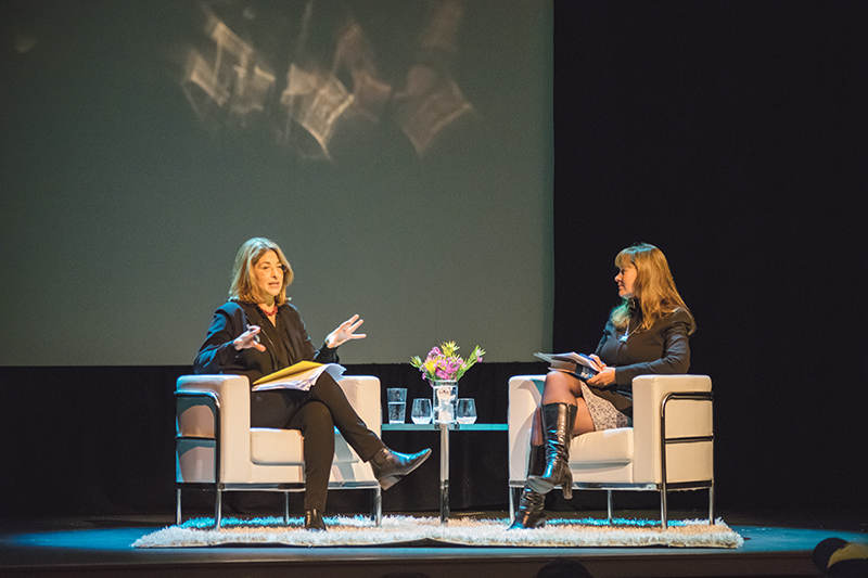 Friday night's lecture at the Vogue Theatre was part of the SFU Vancouver Speaker Series.