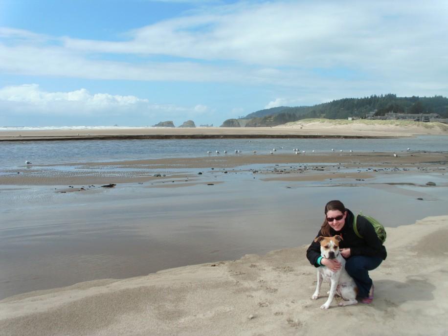 Luna and Tessa Cannon Beach