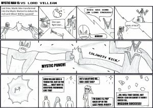 Mystic Man 15 vs Lord Villian Part 22