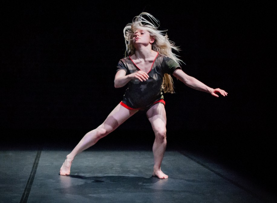 Nicola Leahey shines in Compagnie Thor's ReVoLt.
