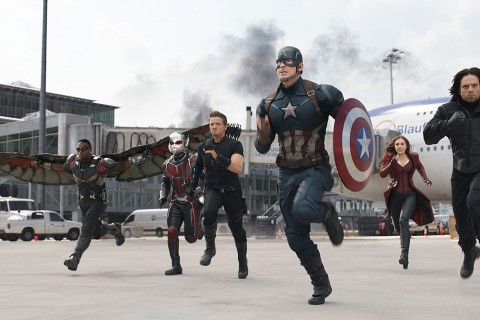 The conflict between Captain America and Iron Man, engulfs other members of the Avengers.