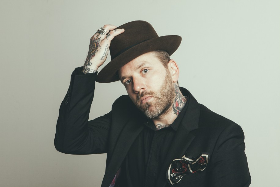 Comfortable both solo and in a group, Dallas Green can command a stage.