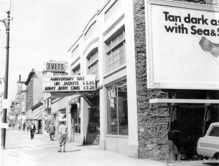 832 Main Street in Hogan's Alley, 1969, Vancouver, B.C.