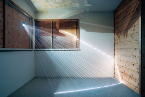 James Nizam's gallery show Ascensions of Time makes photographs move despite their static nature. you can see Frieze at the BAF Gallery until October 22.
