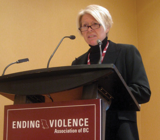 Tracy Porteous is the executive director from the Ending Violence Association.