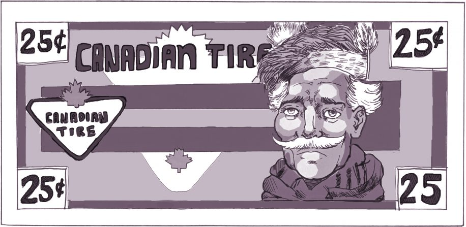 The guy from the Canadian Tire money was not available for comment.