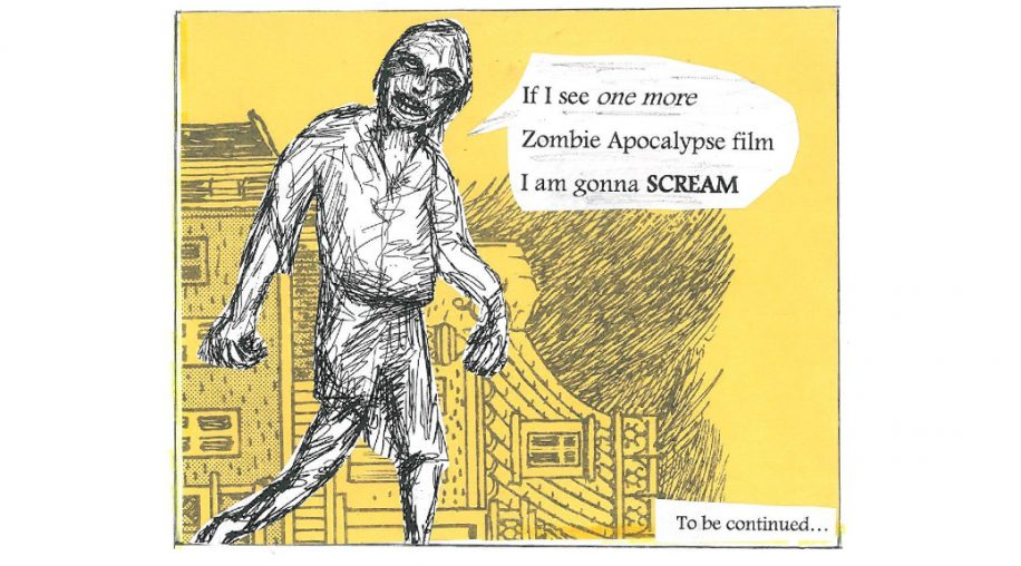 seagull square- zombie haiku