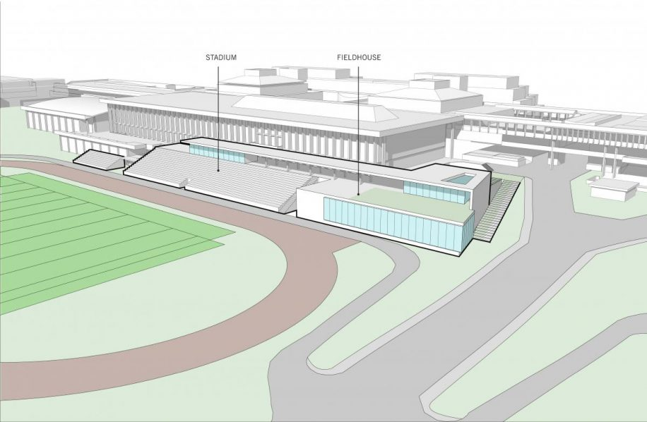 The blueprint released by Build SFU, previous to cancelling the stadium