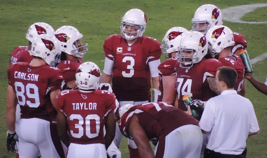 Carson Palmer (#3) and the Cardinals are back on track after a tough start.