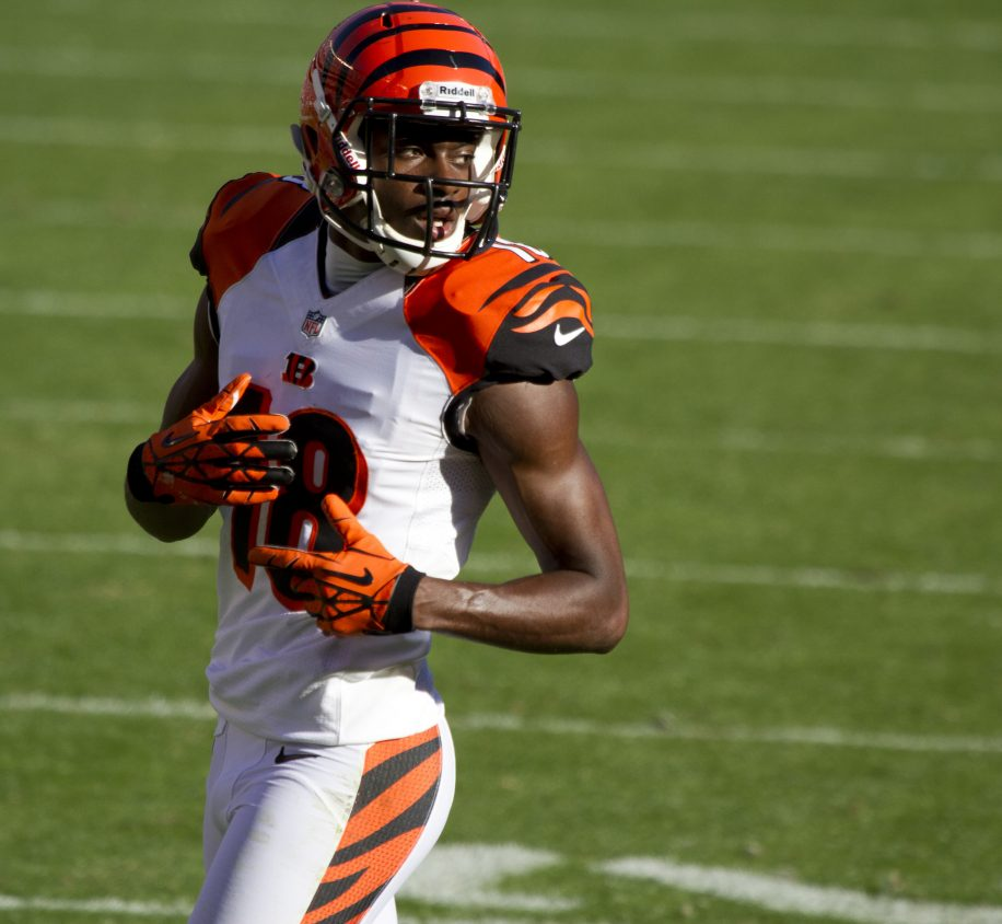 A.J. Green will lead the Bengals to victory over Washington this Sunday.