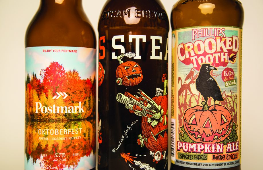 Nothing says autumn like a delicious craft beer.