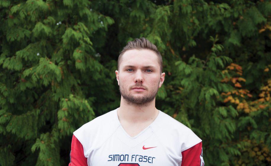 Richardson is SFU's new starting quarterback, replacing recent graduate Ryan Stanford.