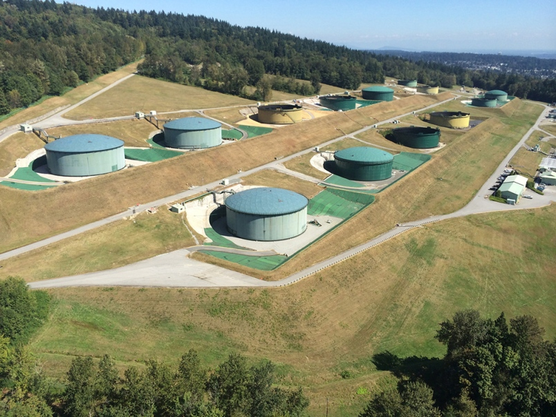 The decision to expand the tank farm (which is less than a kilometer from Convocation Mall) will come on or before December 19.