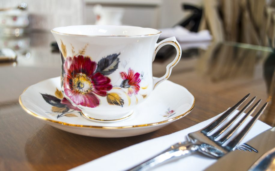 Bone china, unique teas, and pastries bring an air of whimsy to Kitsilano's Neverland Tea Salon.