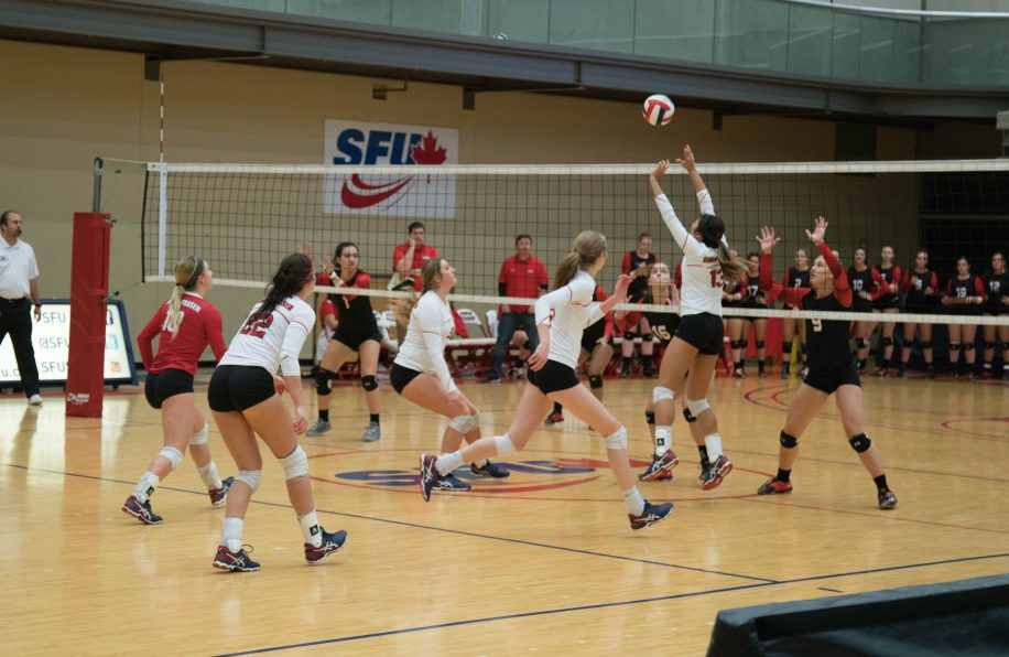 SFU remains third in the GNAC conference with the win.
