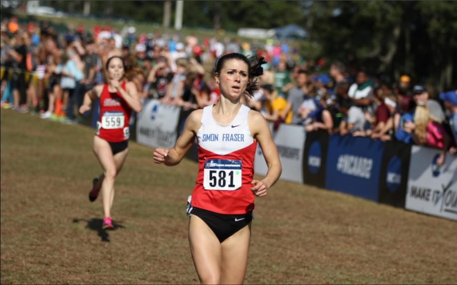 This year Bassett finished 23rd at the national championships, leading SFU to their best ever finish.