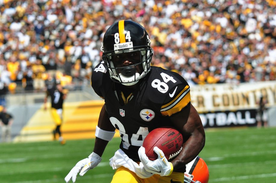 Antonio Brown is poised for a big game this Sunday against the Giants.