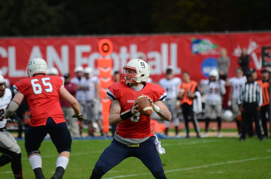With no wins the last two season, the Clan are looking to build a foundation that will propel them to future success. This includes building the offensive line, which struggled to protect quarterback Miles Richardson.