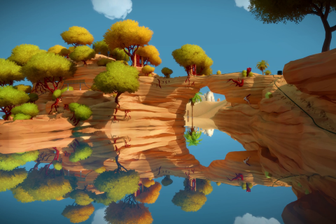 There's no doubt that 2016 was a frustrating year, but with the beautiful world of The Witness, the puzzle-based game proved to be the best kind of frustrating.