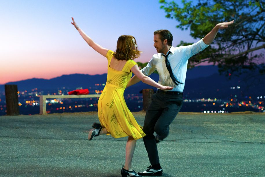 Emma Stone and Ryan Gosling capture the magic of the classic Hollywood musical as Mia and Sebastian in La La Land.