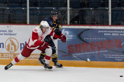 SFU is now 15-3-2 on the season, good enough for first place in the BCIHL.